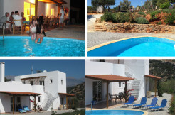 Flott villa med nydelig sjøutsikt og eget basseng.