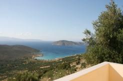 Villa nær landsbyen Kavousi med panoramautsikt.
