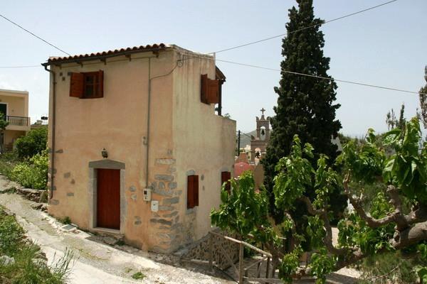 Sjarmerende landsbyhus i Kavousi.