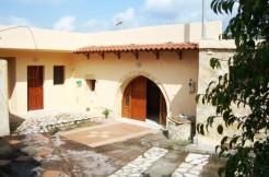 Athenas renoverte landsbyhus.